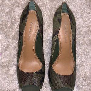Gianni Bini Camo Heels